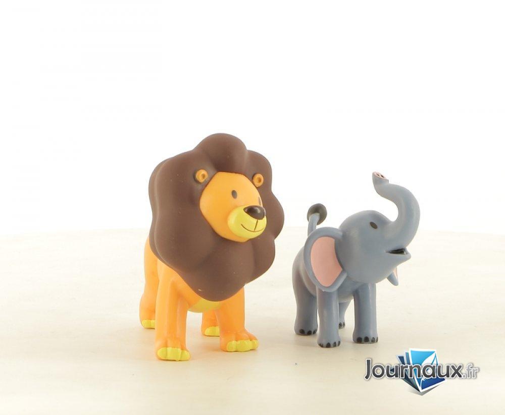 Binti le Bébé Eléphant - Loumba le Lion