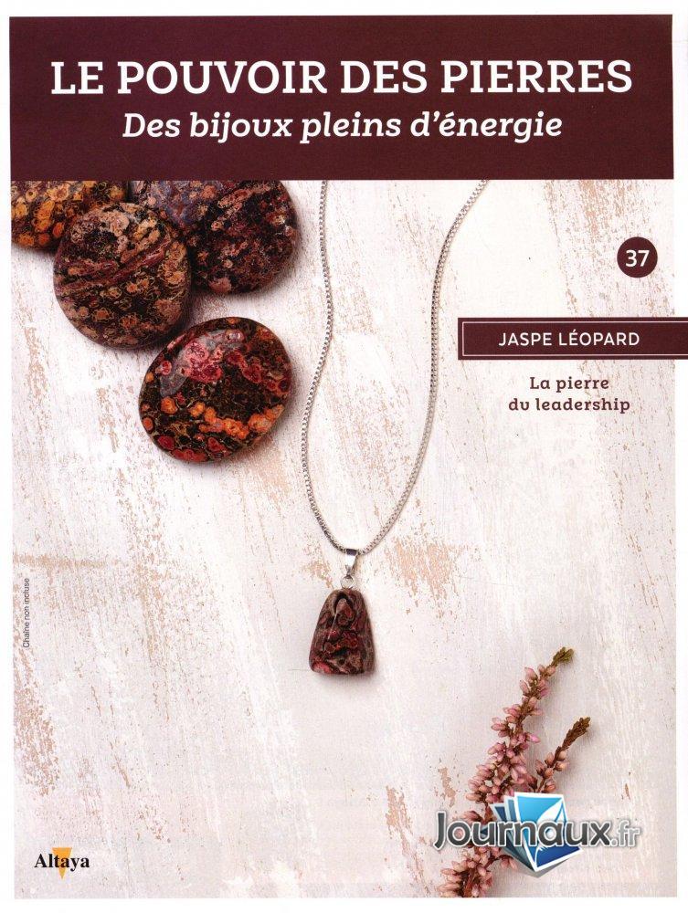 Jaspe Léopard - La Pierre du Leadership
