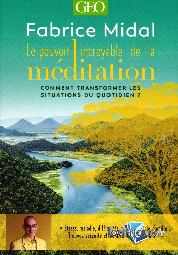 Livre Géo - Méditation