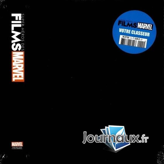 Classeur Super-Héros des Films Marvel