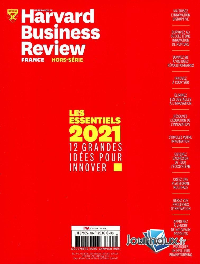 Harvard Business Review  Hors Série