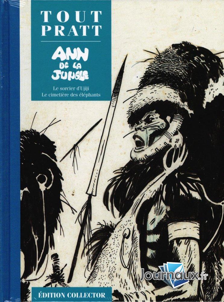 Ann De La Jungle - Le Sorcier d'Ujiji - Le Cimetierre des éléphants