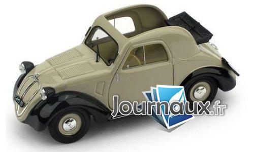 Fiat 500A 1.Serie, dunkelbeige/noire - 1936