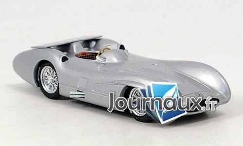 Mercedes W196C, Test Monza - 1955