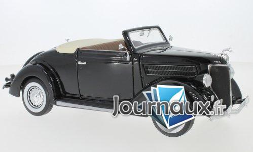 Ford De Luxe cabriolet, schwarz - 1936