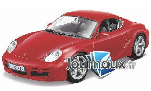 Porsche Cayman S, rot