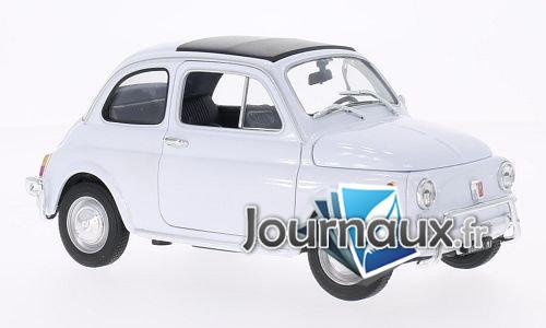 Fiat 500, blanche - 1957