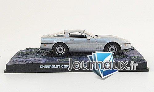 Chevrolet Corvette, silber, James Bond 007 - 1987