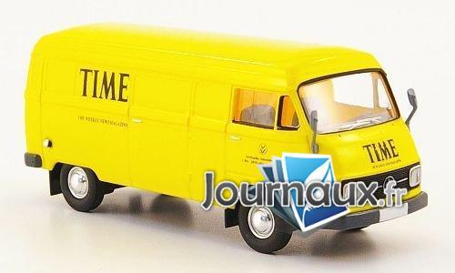 Mercedes L206 D Van, Time