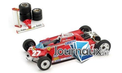 Ferrari 126CK Turbo, No.27, version pour transport, GP Monaco - 1981