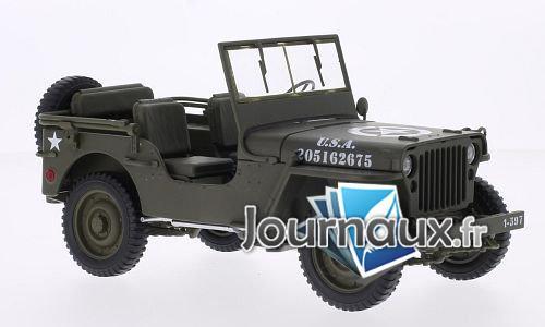 Jeep Willys, matt-oliv, U.S. Army