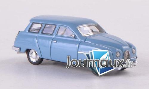 Saab 95, bleu clair