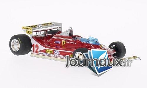 Ferrari 312 T4, No.12, GP Monaco - 1979