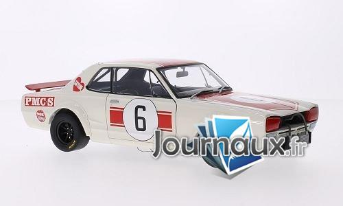 Nissan Skyline GT-R (KPGC10), RHD, No.6, GP Japan - 1971
