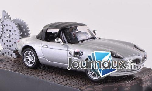 BMW Z8, argenté, James Bond 007