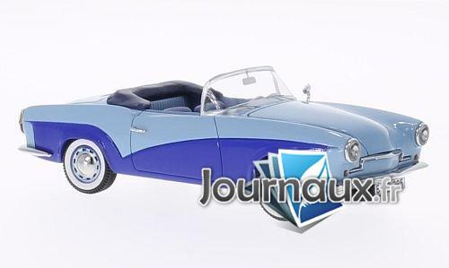 Rometsch Lawrence Cabriolet, hellblau/bleu foncé - 1957