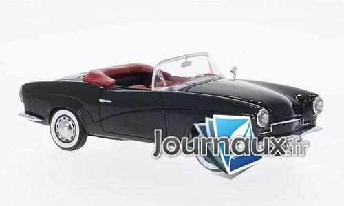 Rometsch Lawrence cabriolet, schwarz - 1957