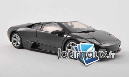 Lamborghini Murcielago, metallic-schwarz