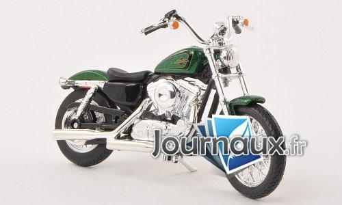 Harley Davidson XL 1200V Seventy-Two, metallic-grün - 2012