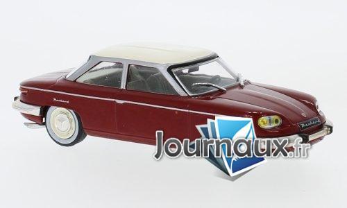 Panhard 24 BT, rouge foncé/hellbeige - 1964