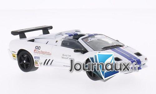 Lamborghini Diablo VT-R Roadster Trofeo , weiss/blau - 1997