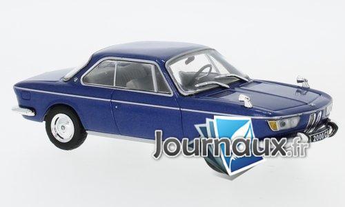 BMW 2000 CS, metallic-bleu - 1966