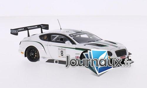 Bentley Continental GT3, RHD, No.8, Bentley M-Sport, 24h Spa - 2014
