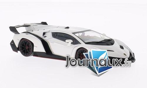 Lamborghini Veneno, blanche