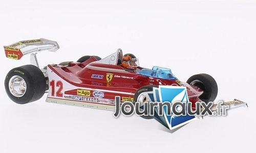 Ferrari 312 T4, No.12, Scuderia Ferrari, GP Pays-Bas - 1979