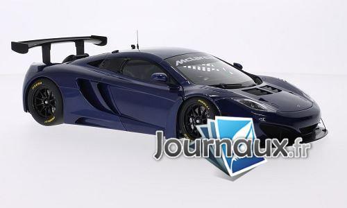 McLaren MP4-12C GT3, metallic-bleu, RHD - 2011