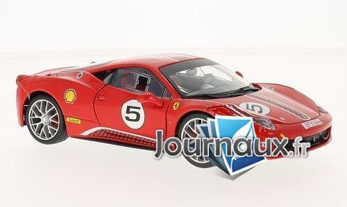 Ferrari 458 Challenge, rot, No.5
