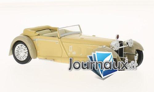 Daimler Double Six 50 Convertible, dunkelbeige/grau, RHD - 1931