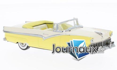 Ford Fairlane Convertible, gelb/beige - 1956