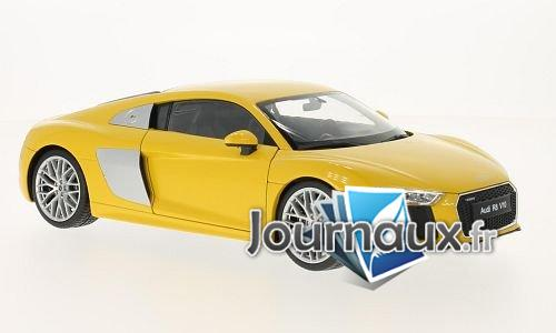 Audi R8 V10, jaune - 2016