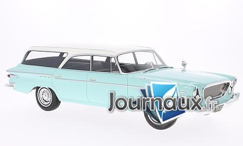 Chrysler Newport Town & Country Wagon, helltürkis/weiss - 1962