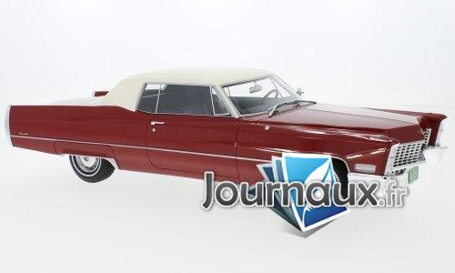 Cadillac Deville Coupe, rot/weiss - 1967