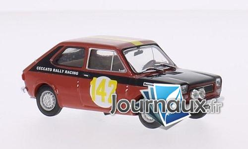 Fiat 127, No.142, Ceccato Rally Racing, Rallye 2 Valli - 1972
