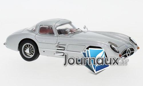 Mercedes 300 SLR Coupe Uhlenhaut (W196S), argenté - 1955
