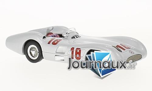 Mercedes W196 R Stromlinie, No.18,  GP Monza - 1955