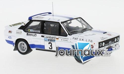 Fiat 131 Abarth, No.3, Fiat UK , Rallye WM, RAC Rally - 1979