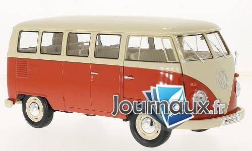 VW T1, beige/rouge clair - 1963