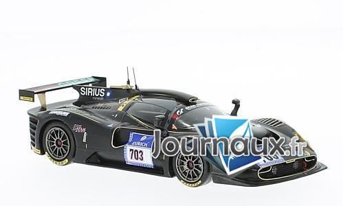 SCG P4/5 Competizione M16, No.703, Scuderia Cameron Glickenhaus, 24h Nürburgring - 2016