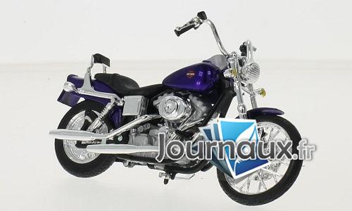 Harley Davidson FXDWG Dyna Wide Glide, metallic-dunkelviolett - 2001