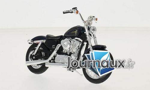 Harley Davidson XL 1200V Seventy-Two, metallic-bleu foncé/bleu foncé - 2012