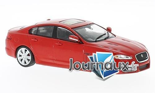 Jaguar XFR, rouge, RHD - 2010