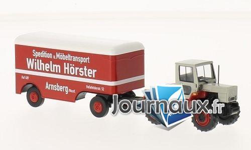 Mercedes trac, Wilhelm Hörster