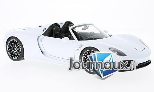 Porsche 918 Spyder, blanche - 2011