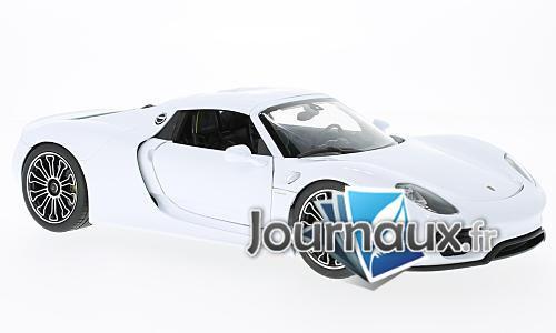 Porsche 918 Spyder, weiss/noire - 2011