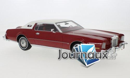 Lincoln Continental Mark IV, metallic-rot/weiss - 1974