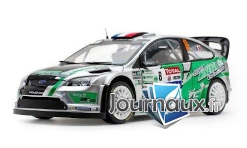 Ford Focus RS WRC, No.8, Rally Touquet - 2012